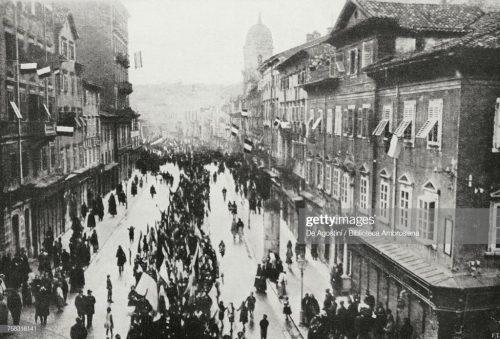 Хрватска комунистичко-усташка лаж о Fiume 1918.