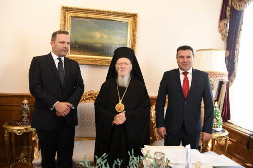 Спасовски и Заев посетили Патријаршију ради разговора о статусу Цркве у Северној Македонији