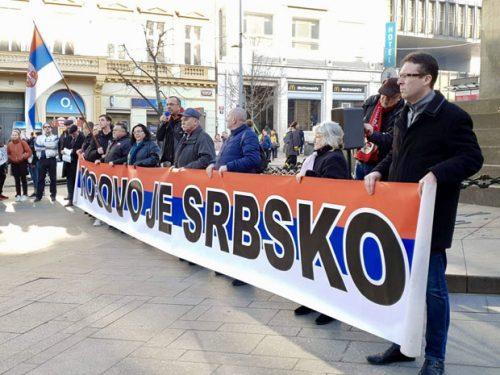 У Прагу одржан протест против независности Косова