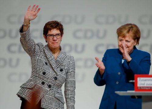 AKK-Merkel