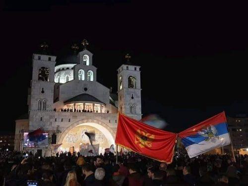 Стоп монтенегрисању и католичењу Црне Горе