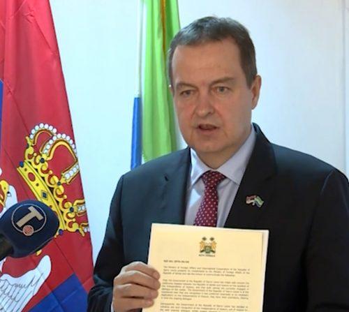 Дачић: Сијера Леоне повукла признање Косова