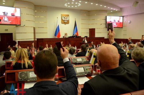 parlament DNR