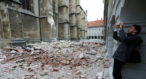 Снажан земљотрес у Загребу, потрес се осетио у целом региону