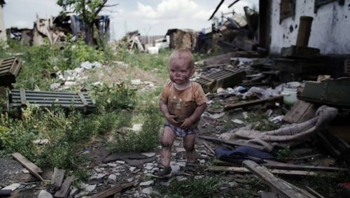 djeca-donbasa-dječak-ruševine-rat-ukrajina-rusija