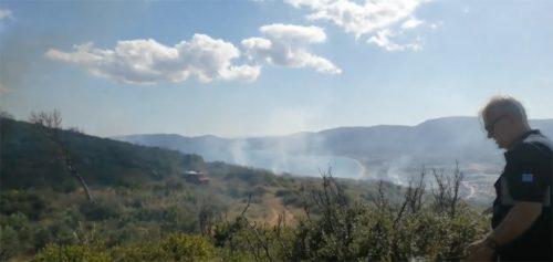 Велики пожар на рту Арапис на Светој гори; Манастири и конаци за сада нису угрожени