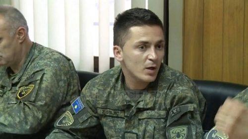 Скандал. Потпоручник Србин, врши обуку у такозваној « војсци Косова »