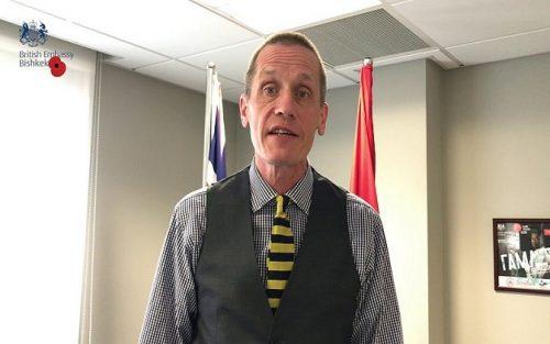 Григориј Трофимчук: Енглески амбасадор Чарлс Гарет, сива еминенција Киргизије