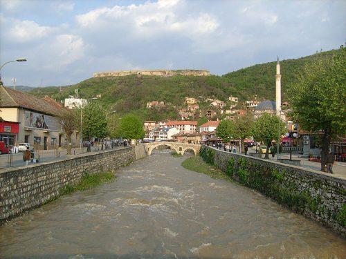 Призренска Бистрица кроз центар града