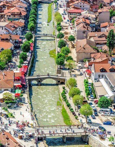 У Призрену преко Бистрице има 13 мостова
