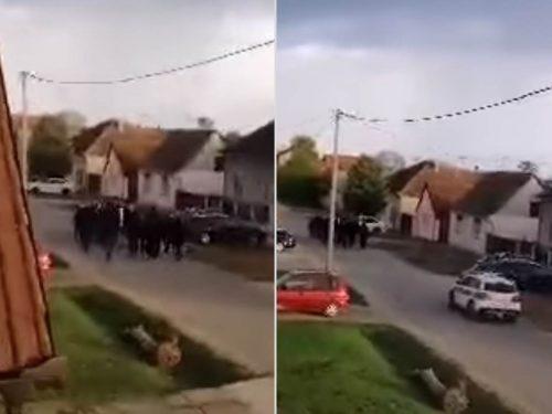 Хрватскo прање руку: Приведено 14 припадника групе која је Србима у Борову претила клањем
