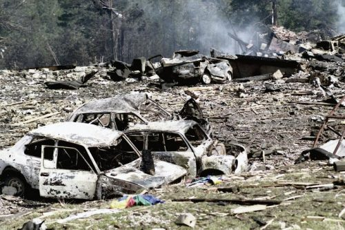 """Дан када је """"Милосрдни анђео"""" центром Ниша """"сијао"""" касетне бомбе: Убијена и трудница"""