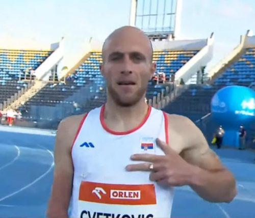 Шампион Европе на 400 метара