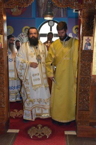 Храмовна слава, рукопроизвођење и рукоположење у манастиру Преподобног Јустина Ћелијског