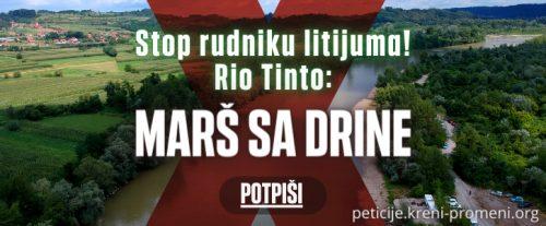 Нова економија: Преко 100.000 људи потписало петицију против рудника литијума Рио Тинта