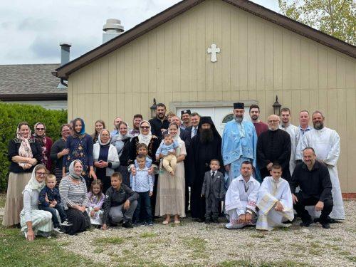 Манастир Светих српских просветитеља у Колумбусу (САД) свечано прославио своју храмовну славу